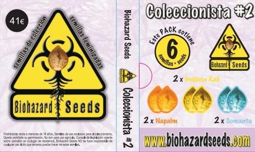Coleccionista 2 (Biohazard Seeds)